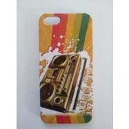 Apple iPhone 5 hard case Retro Rainbow