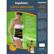 impulsion dynamic afslankgordel zwart