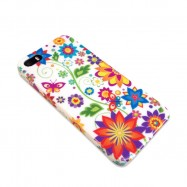 iPhone 5 hard case Bloemen