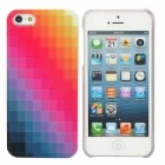 Apple iPhone 5 hard case geruit patroon