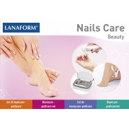 Lanaform Nails Care Manicure Pedicure Set