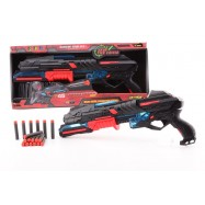 serve & protect shooter large 50cm met licht en 10 pijlen